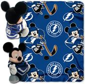 NHL Tampa Bay Lightning Mickey Hugger Throw