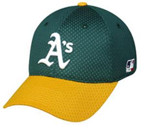 MLB Stretch Fit Oakland Athletics Baseball Cap