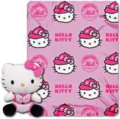 MLB New York Mets/Hello Kitty Hugger Throw