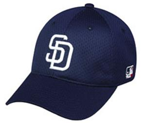 MLB Stretch Fit San Diego Padres Baseball Cap
