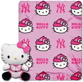 MLB New York Yankees/Hello Kitty Hugger Throw