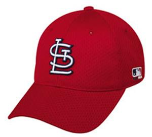 Stretch Fit St. Louis Cardinals Home Baseball Cap