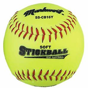 Markwort 6.5&quot; SS-CB16Y Soft Safe Mini-Baseballs