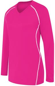 High 5 Womens Long Sleeve Solid Volleyball Jersey