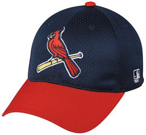 MLB Stretch Fit St. Loius Cardinals Baseball Cap