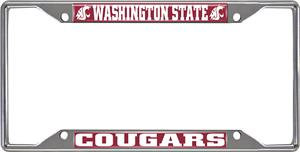 Fan Mats Washington State Univ License Plate Frame