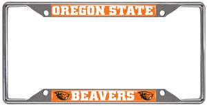 Fan Mats Oregon State Univ License Plate Frame