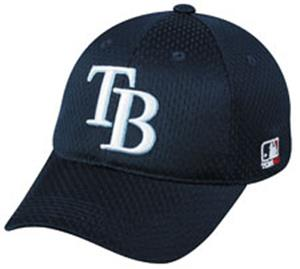 MLB Stretch Fit Tampa Bay Devil Rays Baseball Cap