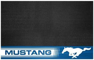 """Fan Mats Ford Mustang Horse 26"""" x 42"""" Grill Mat"""