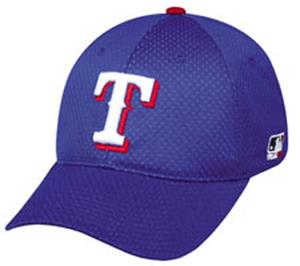 MLB Stretch Fit Texas Rangers Baseball Cap