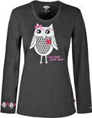Dickies Women's Owl Steal Your Heart Knit Tee