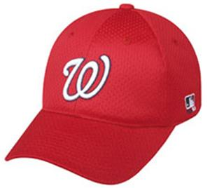 MLB Stretch Fit Washington Nationals Baseball Cap