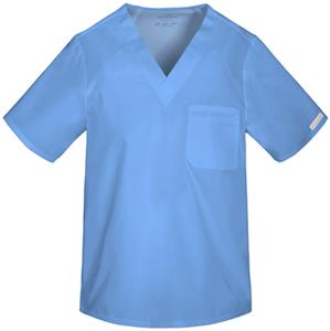 Cherokee Men's Sporty V-Neck Scrub Top