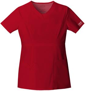 Cherokee Workwear Women's Jr Fit V-Neck Scrub Top