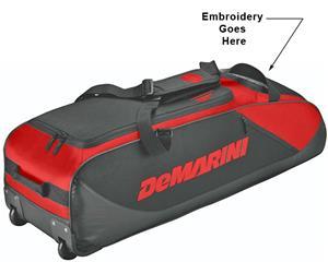 DeMarini D-Team Bat Bag on Wheels