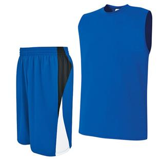 High 5 Sleeveless Essortex Basketball Uniform Kits