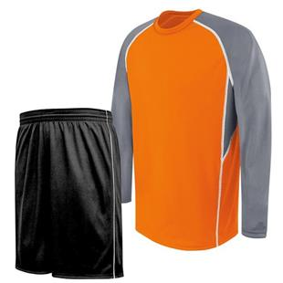 H5 Evolution Long Sleeve Basketball Uniform Kits