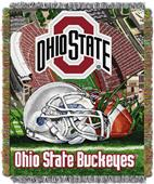 "Northwest NCAA Ohio St 48""x60"" HFA Tapestry Throw"