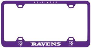 Fremont Die NFL Baltimore Ravens Plate Frame