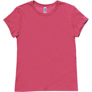 Bella Womens Jersey Heather T-Shirt Top