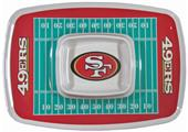 NFL San Francisco 49er's Chip & Dip Tray
