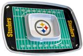 NFL Pittsburgh Steelers Chip & Dip Tray