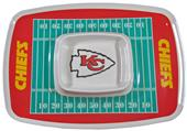 NFL Kansas City Chiefs Chip & Dip Tray
