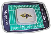 NFL Baltimore Ravens Chip & Dip Tray