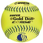 "Worth 12"" USSSA Super Gold Dot XT SP Softball-DZ"