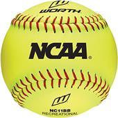 "Worth 11"" NCAA Outdoor Training Softballs"