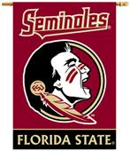 "BSI Florida State Seminoles 2-Sided 28""x40"" Banner"