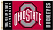 Collegiate Ohio State 2-Sided 3' x 5' Flag
