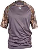 Louisville Slugger Loose-Fit Raglan SS Camo Shirt