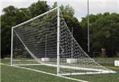"Upper 90 Portable 6'6"" x 12'3"" Soccer Goals - Pair"
