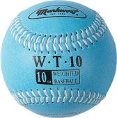"Markwort 9"" Color Coded Weighted Leather Baseballs"
