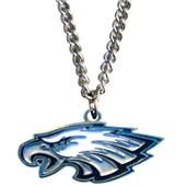 Silver Moon NFL Philadelphia Eagles Charm Necklace