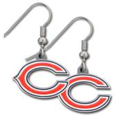 Silver Moon Chicago Bears Short Dangle Earrings