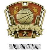 "Hasty Awards 3"" Varsity Basketball Medals M-787B"
