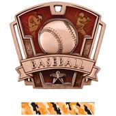 "Hasty Awards 3"" Varsity Baseball Medals M-787C"
