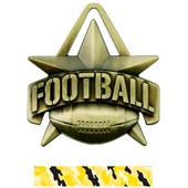 "Hasty Awards 2"" All-Star Football Medals M-790F"