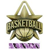"Hasty Awards 2"" All-Star Basketball Medals M-790B"