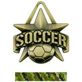 "Hasty Awards 2"" All-Star Soccer Medals M-790S"