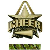 """Hasty Awards 2"""" All-Star Cheer Medals M-790CH"""