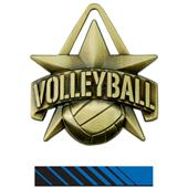 "Hasty Awards 2"" All-Star Volleyball Medals M-790V"