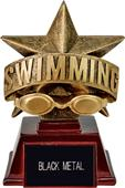 """Hasty Awards 6"""" All Star Resin Swimming Trophy"""
