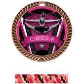 "Hasty Awards 2.5"" Varsity Crest Cheer Medals"
