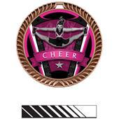 "Hasty Awards 2.5"" Varsity Crest Cheer Medals"