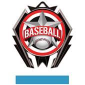 Hasty Stealth Baseball All-Star Medal M-5200