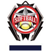 Hasty Stealth Softball All-Star Medal M-5200