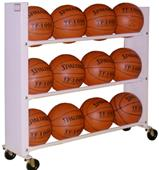 Pro Bound 3 or 4 Row Basketball Ball Carts